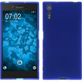 Silicone Case for Sony Xperia XZ matt blue