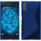Silicone Case for Sony Xperia XZ S-Style blue