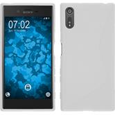 Silicone Case for Sony Xperia XZ S-Style white