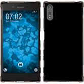 Silicone Case Xperia XZ Shock-Proof gray