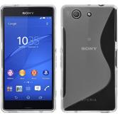 Silicone Case for Sony Xperia Z3 Compact S-Style transparent