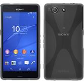 Silicone Case for Sony Xperia Z3 Compact X-Style gray