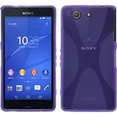 Silicone Case for Sony Xperia Z3 Compact X-Style purple