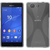 Silicone Case for Sony Xperia Z3 Compact X-Style transparent