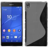Silicone Case for Sony Xperia Z3 S-Style transparent
