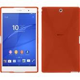 Silicone Case for Sony Xperia Z3 Tablet Compact X-Style red