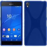 Silicone Case for Sony Xperia Z3 X-Style blue