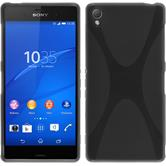 Silicone Case for Sony Xperia Z3 X-Style gray