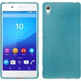 Silicone Case for Sony Xperia Z3+ brushed blue