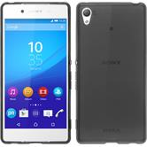 Silicone Case for Sony Xperia Z3+ transparent black