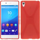 Silicone Case for Sony Xperia Z3+ X-Style red