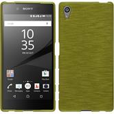 Silicone Case for Sony Xperia Z5 brushed pastel green