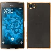 Silicone Case for Sony Xperia Z5 Compact Slim Fit gold