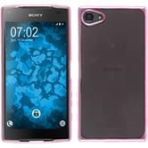 Silicone Case for Sony Xperia Z5 Compact Slim Fit hot pink