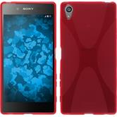 Silicone Case for Sony Xperia Z5 Premium X-Style red