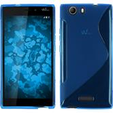 Silicone Case for Wiko Ridge 4G S-Style blue