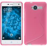 Silicone Case for ZTE Blade L3 S-Style hot pink