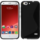 Silicone Case for ZTE Blade S6 Plus S-Style black