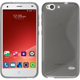 Silicone Case for ZTE Blade S6 S-Style gray