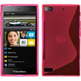 Silikonhülle für BlackBerry Z3 S-Style pink
