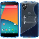 Silicone Case for Google Nexus 5  blue