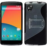 Silicone Case for Google Nexus 5  black