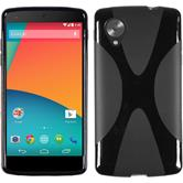 Silicone Case for Google Nexus 5 X-Style black