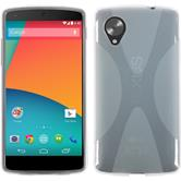 Silicone Case for Google Nexus 5 X-Style transparent