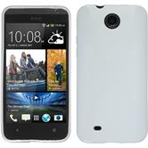 Silicone Case for HTC Desire 300 X-Style white