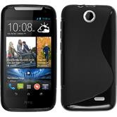 Silicone Case for HTC Desire 310 S-Style black