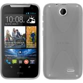 Silicone Case for HTC Desire 310 X-Style gray