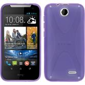 Silicone Case for HTC Desire 310 X-Style purple