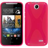 Silicone Case for HTC Desire 310 X-Style hot pink