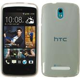 Silicone Case for HTC Desire 500 X-Style gray