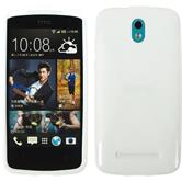 Silicone Case for HTC Desire 500 X-Style white