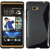Silicone Case for HTC Desire 600 S-Style black