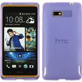 Silicone Case for HTC Desire 600 X-Style purple