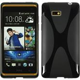 Silicone Case for HTC Desire 600 X-Style black