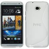 Silicone Case for HTC Desire 601 S-Style transparent