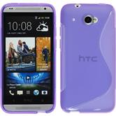 Silicone Case for HTC Desire 601 S-Style purple