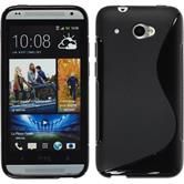 Silicone Case for HTC Desire 601 S-Style black
