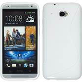 Silicone Case for HTC Desire 601 S-Style white
