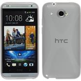 Silicone Case for HTC Desire 601 X-Style gray