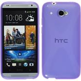 Silicone Case for HTC Desire 601 X-Style purple
