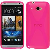 Silicone Case for HTC Desire 601 X-Style hot pink