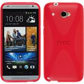 Silicone Case for HTC Desire 601 X-Style red