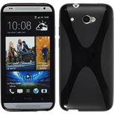 Silicone Case for HTC Desire 601 X-Style black