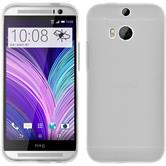 Silicone Case for HTC One M8 Dustproof white