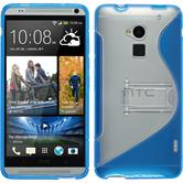 Silicone Case for HTC One Max  blue