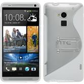Silicone Case for HTC One Max  white